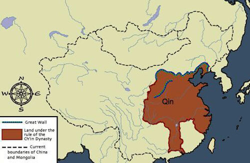 before the qin dynasty china was